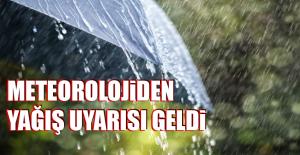 Meteorolojiden Yağış Uyarısı Geldi