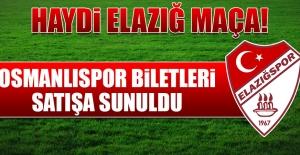 Osmanlıspor Biletleri Satışa Sunuldu