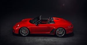 Porsche'nin Yeni Göz Bebeği 911 Speedster, New York'ta Tanıtıldı
