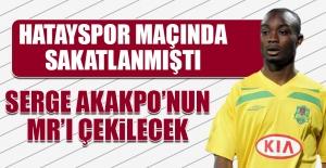 Serge Akakpo'nun MR'ı Çekilecek