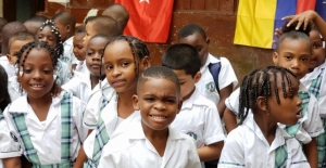 TİKA'dan Kolombiya'daki selzedelere yardım
