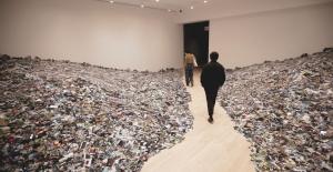 Toplam 350,000 Flickr Fotoğrafından Oluşan Sanat Eseri
