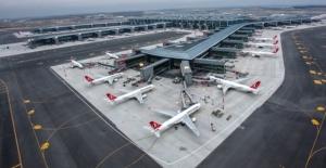Türkiye'nin yeni havalimanından uçuş rekoru