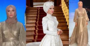 Ünlü Modacı Ivana Sert, Tesettür Defilesinde Podyuma Çıktı