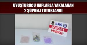 Uyuşturucu Haplarla Yakalanan 2 Şüpheli Tutuklandı