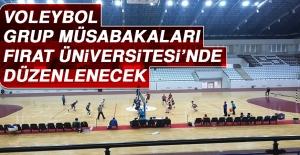 Voleybol Grup Müsabakaları Fırat Üniversitesi'nde Düzenlenecek