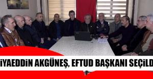 Ziyaeddin Akgüneş, EFTUD Başkanı Seçildi