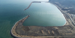 150 Yıllık Hayal Olan Filyos Limanı'nın Yüzde 80'i Tamamlandı