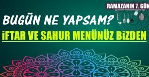 2019 Yılı Ramazanın Yedinci Gününde Elazığlılara Özel Menü