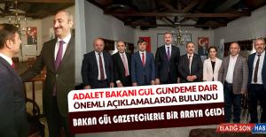 Adalet Bakanı Gül Gündeme Dair Önemli...