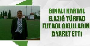 Binali Kartal, Elazığ TÜRFAD Futbol Okullarını Ziyaret Etti