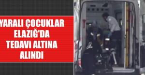 Bingöl'de Yaralanan Çocuklar Elazığ'da Tedavi Altına Alındı