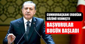 CUMHURBAŞKANI ERDOĞAN SÖZÜNÜ VERMİŞTİ!...