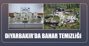 Diyarbakır'da Bahar Temizliği