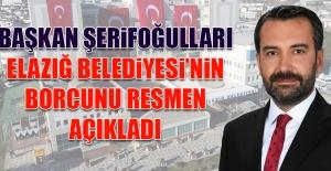 Elazığ Belediyesi#039;nin Borcu...