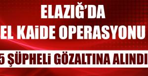 Elazığ'da El Kaide Operasyonu: 5 Gözaltı