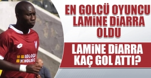 En Golcü Oyuncu Lamine Diarra Oldu