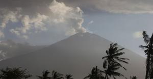 Endonezya'daki Agung Yanardağı'nda Hareketlilik