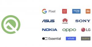 Google, Android Q Beta'ya Katılabilecek Akıllı Telefonları Açıkladı