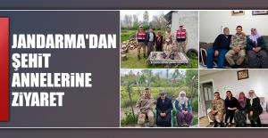 Jandarma'dan Şehit Annelerine Ziyaret