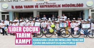 'LİDER ÇOCUK TARIM KAMPI'