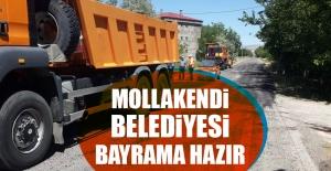 Mollakendi Belediyesi Ramazan Bayramına Hazır