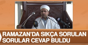 Ramazan'da Sıkça Sorulan Sorular Cevap Buldu
