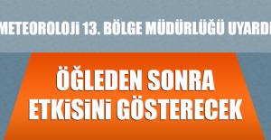 Rüzgar Elazığ'da Öğleden Sonra Etkisini Gösterecek