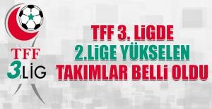 TFF 3. Ligde 2.Lige Yükselecek Takımlar Belli Oldu