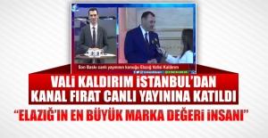 Vali Kaldırım'dan İstanbul'da Önemli Açıklamalar