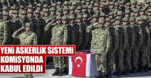 Yeni Askerlik Sistemi Komisyonda Kabul...