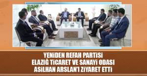 Yeniden Refah Partisi'nden Ziyaret