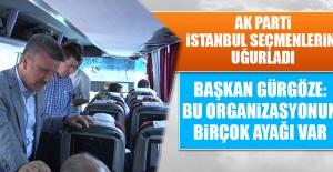 AK Parti, İstanbul Seçmenlerini Uğurladı