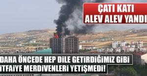 Ataşehir Mahallesi'nde Korkutan Yangın