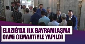 Elazığ'da İl Yöneticileri Cematle Bayramlaştı