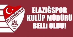 Elazığspor Kulüp Müdürü Belli Oldu!