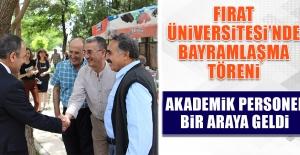 Fırat Üniversitesi'nde Bayramlaşma Töreni