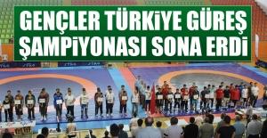 Gençler Türkiye Güreş Şampiyonası Sona Erdi