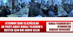 İstanbuldaki Elazığlılar AK...