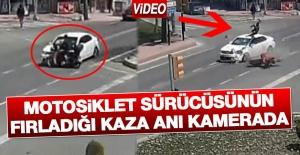Kaza Anı Kameralara Yansıdı