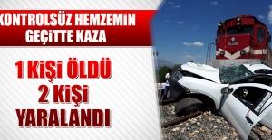 Kazada 1 Kişi Öldü 2 Kişi Yaralandı