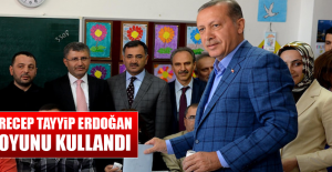 Recep Tayyip Erdoğan Oyunu Kullandı