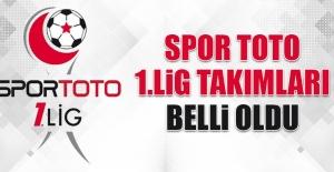 Spor Toto 1.Lig Takımları Belli Oldu