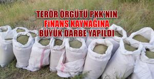 Terör Örgütü PKK'nın Finans Kaynağına Büyük Darbe Yapıldı