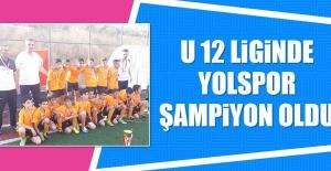 U 12 Liginde Yolspor Şampiyon Oldu
