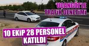 'Uçangöz'le Trafik Denetimi