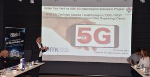 Yerli 5G altyapısıyla ilk iletişim