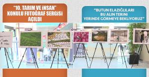 """""""10. Tarım ve İnsan"""" Konulu Fotoğraf Sergisi Açıldı"""