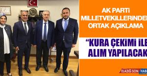 AK Parti Milletvekillerinden Ortak...
