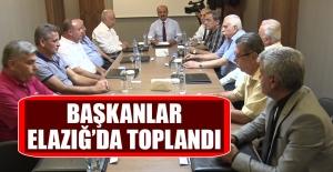 Başkanlar, Elazığ'da Toplandı